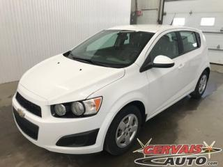 Used 2014 Chevrolet Sonic Ls Hatch Bluetooth for sale in Trois-Rivières, QC