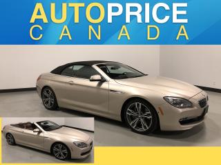 Used 2012 BMW 650i i HEADS UP DISPLAY|NAVIGATION|LEATHER for sale in Mississauga, ON