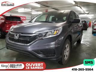 Used 2016 Honda CR-V Lx Awd Camera for sale in Québec, QC