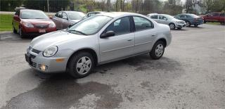 Used 2005 Dodge SX 2.0 Base for sale in Madoc, ON