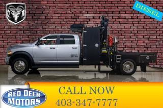 Used 2017 RAM 5500 4x4 Crew Cab Laramie Picker Diesel Aisin for sale in Red Deer, AB