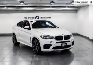 Used 2015 BMW X6 M -NO ACCIDENTS| PREMIUM PKG| for sale in Newmarket, ON