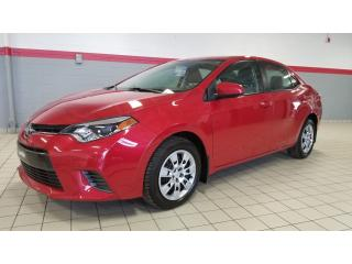 Used 2016 Toyota Corolla Le Siege Ch for sale in Terrebonne, QC