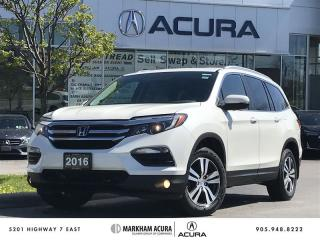Used 2016 Honda Pilot EX 6AT AWD Moonroof, Block Heater, Tow Hitch for sale in Markham, ON