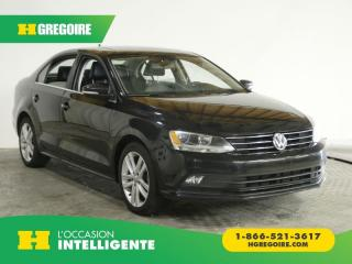 Used 2016 Volkswagen Jetta Highline 1.8 Tsi for sale in St-Léonard, QC