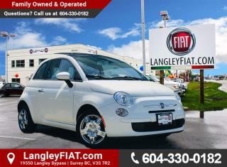 Used 2012 Fiat 500 Pop B.C Owned! for sale in Surrey, BC