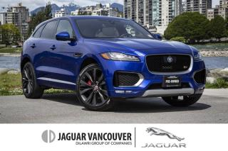 Used 2017 Jaguar F-PACE S First Edition *Certified Pre-Owned Warranty!  Local!  No Accidents! for sale in Vancouver, BC
