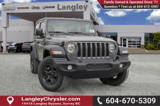 New 2019 Jeep Wrangler SPORT for sale in Surrey, BC