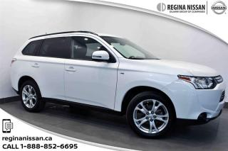Used 2014 Mitsubishi Outlander 4WD SE Keyless entry!!!Sunroof!!! for sale in Regina, SK