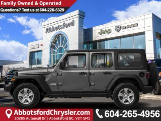 New 2019 Jeep Wrangler Unlimited Sahara - Leather Seats for sale in Abbotsford, BC