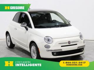 Used 2012 Fiat 500 LOUNGE A/C CUIR for sale in St-Léonard, QC