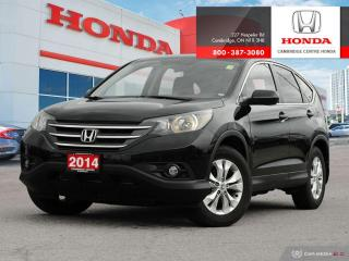 Used 2014 Honda CR-V EX ECON MODE | REARVIEW CAMERA WITH DYNAMIC GUIDELINES | ALL WEATHER FLOOR MATS for sale in Cambridge, ON