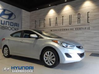 Used 2012 Hyundai Elantra GL+A/C+BANCS CHAUFF+BLUETOOTH+CRUISE for sale in Sherbrooke, QC