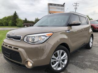 Used 2016 Kia Soul EX +! Heated Seats, BackupCam, Alloys, Bluetooth, Steering Wheel Controls, Fog Lights and Pwr Window for sale in Kemptville, ON