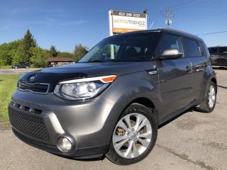 Used 2015 Kia Soul EX+ with Heated Seats, BackupCam, Bluetooth, Pwr Windows, Cruise, Keyless Entry, Steering Wheel Cont for sale in Kemptville, ON
