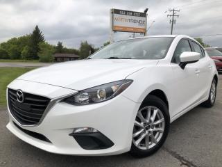 Used 2014 Mazda MAZDA3 GS-SKY Auto with Heated Seats, BackupCam, Bluetooth, Cruise, Steering Wheel Controls and Pwr Windows with K for sale in Kemptville, ON