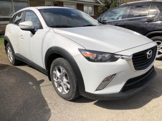 Used 2016 Mazda CX-3 GS AWD! Sunroof, Leather, Heated Seats, BackupCam, Bluetooth, Alloys, Steering Wheel Controls, Pwr Wind for sale in Kemptville, ON