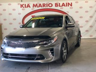 Used 2016 Kia Optima SX Turbo * CUIR * TOIT PANO * GPS * FULL EQUIP for sale in Ste-Julie, QC