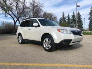 Used 2009 Subaru Forester 2.5 X Limited Package One Owner Local Trade! Excellent Condition! for sale in Winnipeg, MB