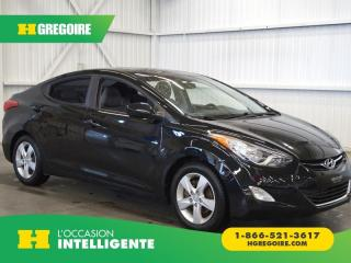 Used 2012 Hyundai Elantra GL A/C-GR for sale in St-Léonard, QC
