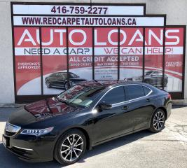 Used 2015 Acura TLX Tech TLX-ALL CREDIT ACCEPTED for sale in Scarborough, ON