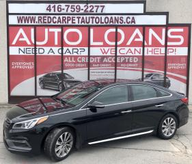 Used 2016 Hyundai Sonata Sport Tech SPORT-ALL CREDIT ACCEPTED for sale in Scarborough, ON