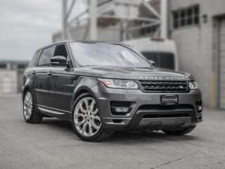 Used 2016 Land Rover Range Rover Sport AUTOBIOGRAPHY I V8 Supercharged I NO ACCIDENT I NAV I BACKUP for sale in Toronto, ON
