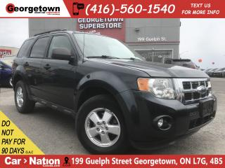 Used 2009 Ford Escape XLT 3.0L V6 | LEATHER | HTD SEATS | POWER GROUP for sale in Georgetown, ON