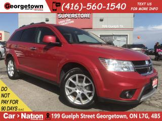 Used 2017 Dodge Journey GT | NAVI | AWD | LEATHER | 7 PASS | ROOF | CAM for sale in Georgetown, ON
