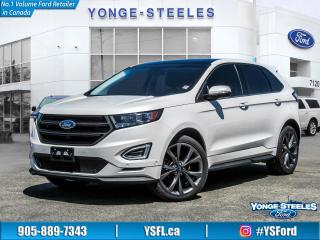 Used 2017 Ford Edge SPORT for sale in Thornhill, ON