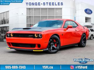 Used 2017 Dodge Challenger SRT Hellcat for sale in Thornhill, ON