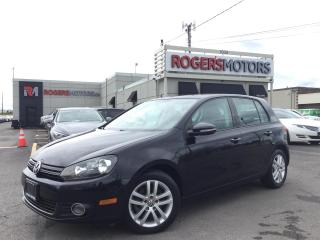 Used 2011 Volkswagen Golf TDI - NAVI - LEATHER - SUNROOF for sale in Oakville, ON