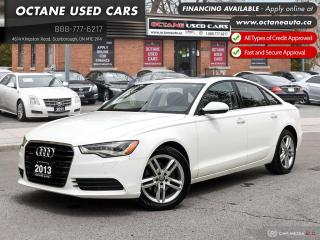 Used 2013 Audi A6 2.0T Premium Accident-Free! 1 Owner! 360 CAM! for sale in Scarborough, ON