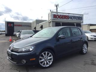 Used 2012 Volkswagen Golf TDI - 6SPD - LEATHER - SUNROOF for sale in Oakville, ON