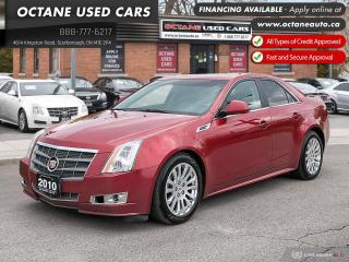 Used 2010 Cadillac CTS 3.6L AWD! RARE COLOR COMBO! for sale in Scarborough, ON