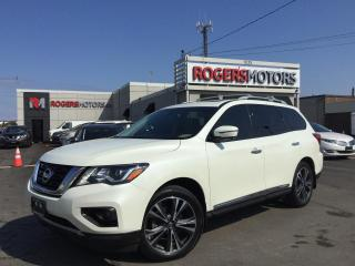 Used 2017 Nissan Pathfinder PLATINUM 4WD - NAVI - DVD - 7 PASS - LOADED for sale in Oakville, ON