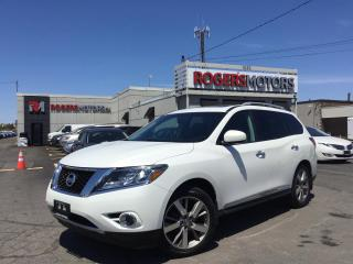 Used 2014 Nissan Pathfinder PLATINUM 4WD - NAVI - DVD - 7 PASS - LOADED for sale in Oakville, ON