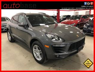 Used 2017 Porsche Macan MACAN NAVIGATION PANORAMIC ROOF MACAN S WHEELS for sale in Vaughan, ON