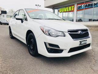 Used 2016 Subaru Impreza 2.0i,MANUELLE,BLUETOOTH,A/C for sale in Lévis, QC
