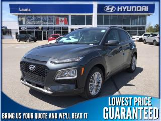 New 2019 Hyundai KONA 2.0L AWD Luxury Auto for sale in Port Hope, ON