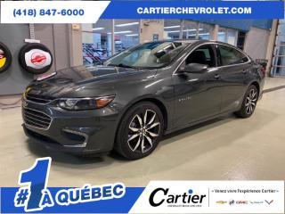 Used 2017 Chevrolet Malibu LT *CUIR* NAV* JAMAIS ACCIDENTE* TOIT* for sale in Québec, QC
