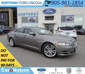 Used 2011 Jaguar XJ XJL | V8 | NAV | PWR HTD LEATHER | PANOROOF | for sale in Brantford, ON