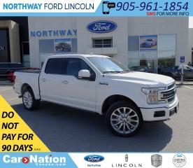 Used 2018 Ford F-150 Limited | NAV | PANOROOF | PWR STEPS | LED LAMPS| for sale in Brantford, ON