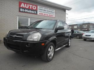 Used 2007 Hyundai Tucson GL for sale in St-Hubert, QC