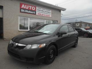 Used 2010 Honda Civic DX-G for sale in St-Hubert, QC