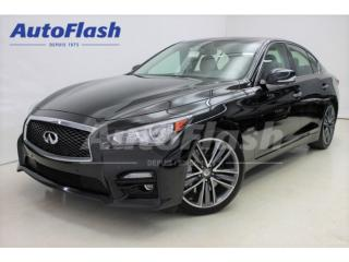 Used 2014 Infiniti Q50 S Sport Hybride for sale in St-Hubert, QC