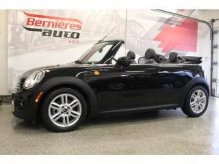 Used 2012 MINI Cooper Convertible for sale in Lévis, QC