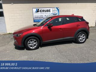Used 2016 Mazda CX-3 GS for sale in Rivière-Du-Loup, QC