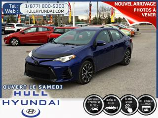 Used 2017 Toyota Corolla Se A/c+volant Ch for sale in Gatineau, QC