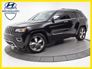 Used 2015 Jeep Grand Cherokee Overland DIESEL 4X4 for sale in Brossard, QC